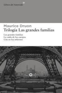 PACK TRILOGíA LAS GRANDES FAMILIAS: portada