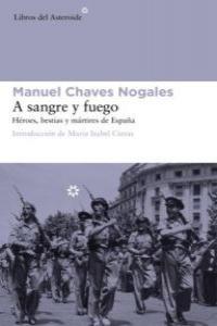 A SANGRE Y FUEGO: portada