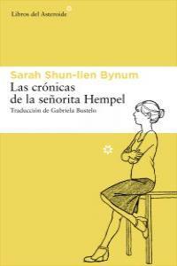 Las crónicas de la señorita Hempel: portada