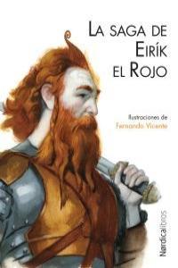 La saga de Eirík el Rojo: portada