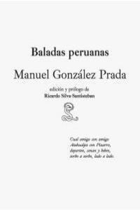 BALADAS PERUANAS: portada