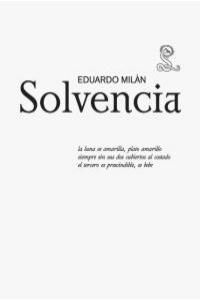 SOLVENCIA: portada
