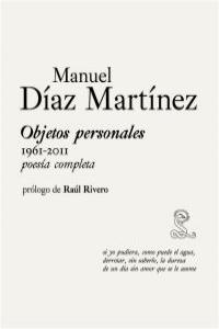 OBJETOS PERSONALES (1961-2011) Poesía Completa: portada