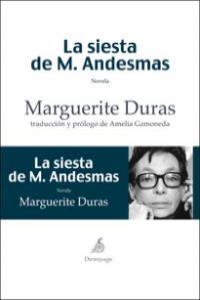 SIESTA DE M. ANDESMAS, LA: portada
