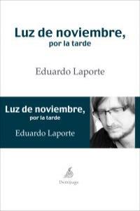 LUZ DE NOVIEMBRE, POR LA TARDE: portada
