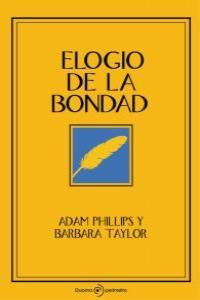 ELOGIO DE LA BONDAD: portada