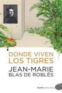 Donde viven los tigres: portada