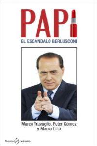 PAPI EL ESCANDALO BERLUSCONI: portada