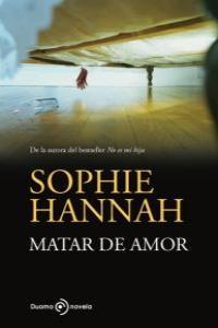 MATAR DE AMOR: portada