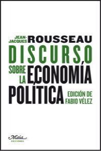 Discurso sobre la economía política: portada