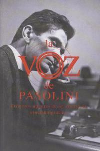 La voz de Pasolini: portada