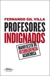 Profesores indignados: portada