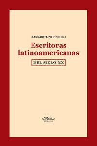 ESCRITORAS LATINOAMERICANAS DEL SIGLO XX: portada