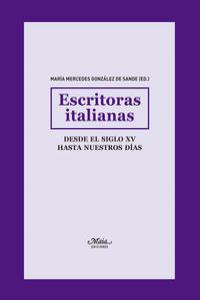 ESCRITORAS ITALIANAS: portada