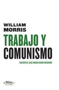 TRABAJO Y COMUNISMO: portada