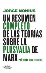 UN RESUMEN COMPLETO DE LAS TEORíAS SOBRE LA PLUSVALíA DE MAR: portada