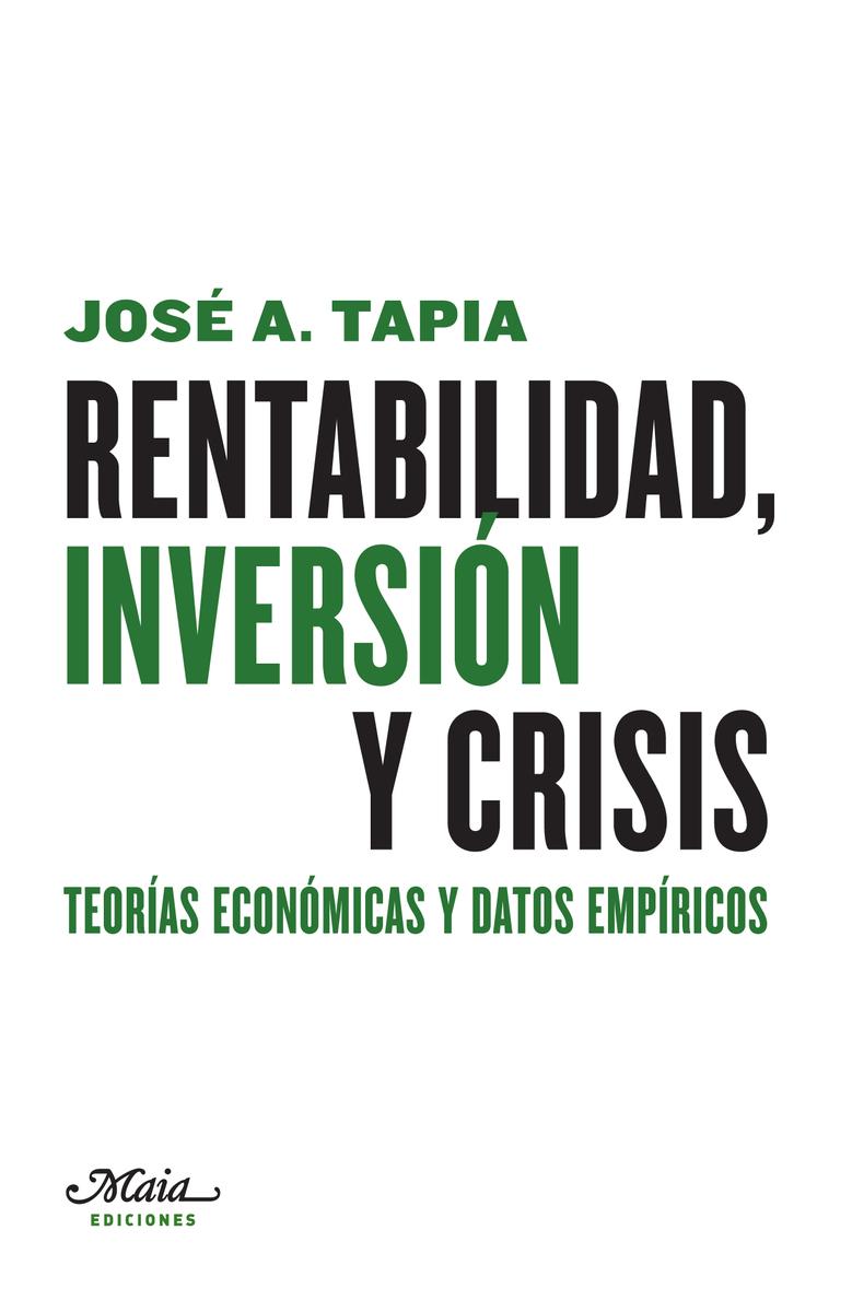 RENTABILIDAD, INVERSIóN Y CRISIS: portada
