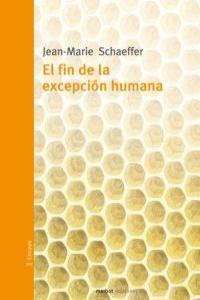 FIN DE LA EXCEPCION HUMANA,EL: portada