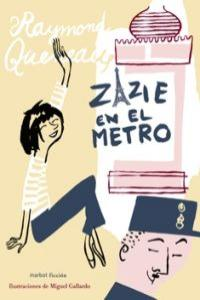 Zazie en el metro: portada
