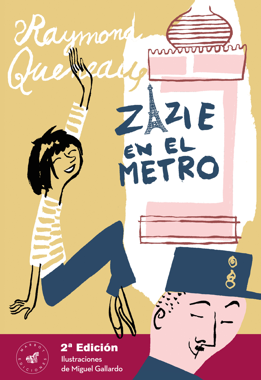 Zazie en el metro, 2a edición: portada