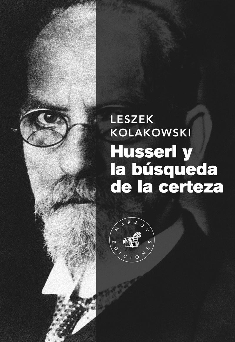 Husserl y la búsqueda de la certeza: portada
