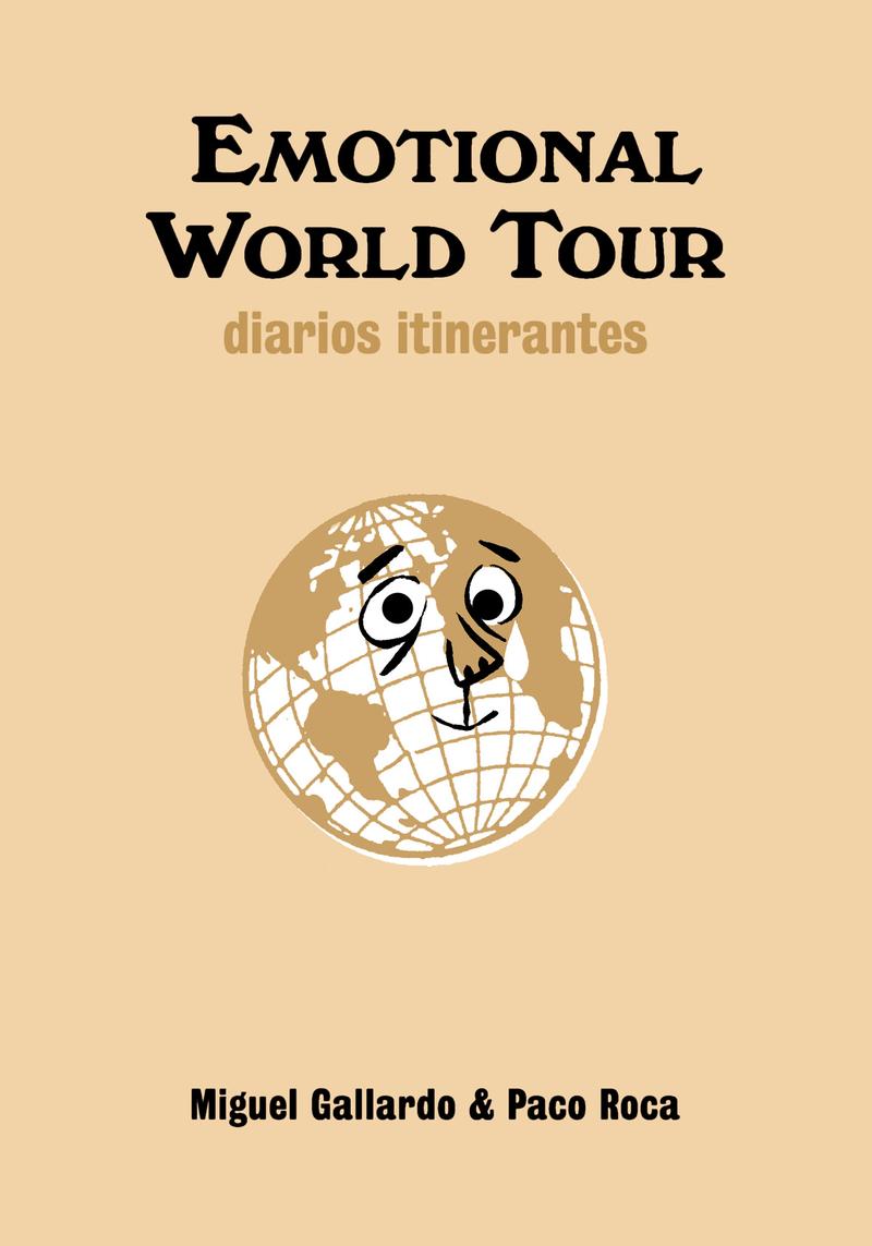 EMOTIONAL WORLD TOUR. DIARIOS ITINERANTES: portada