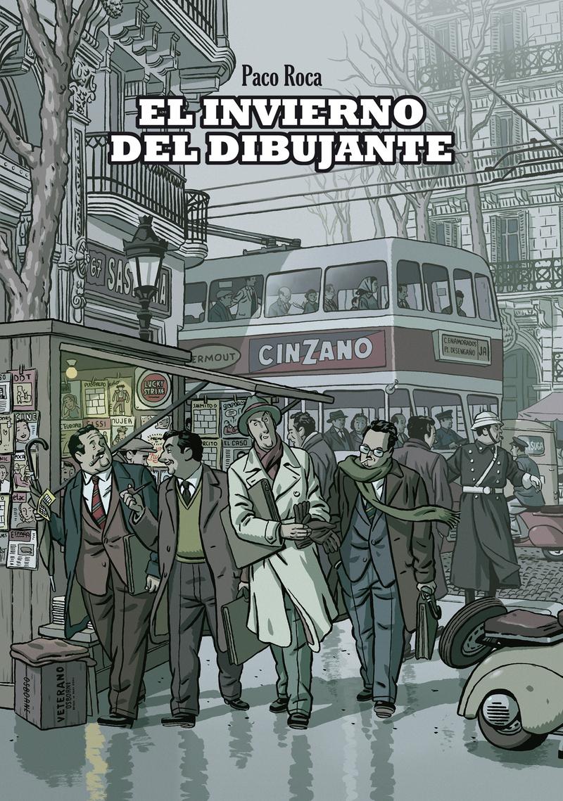 INVIERNO DEL DIBUJANTE,EL 5.ª ED.: portada