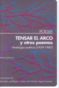 Tensar el arco y otros poemas: portada