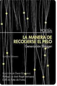 MANERA DE RECOGERSE EL PELO,LA: portada