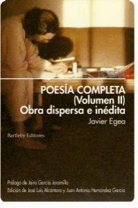Poesía completa (Volumen II): portada