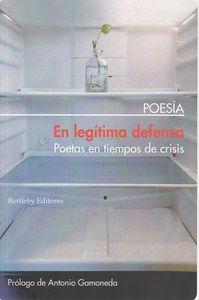 EN LEGITIMA DEFENSA 3ª Edición: portada
