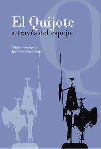 EL QUIJOTE A TRAVÉS DEL ESPEJO: portada
