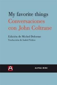 CONVERSACIONES CON JOHN COLTRANE: portada