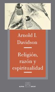 RELIGIÓN, RAZÓN Y ESPIRITUALIDAD: portada