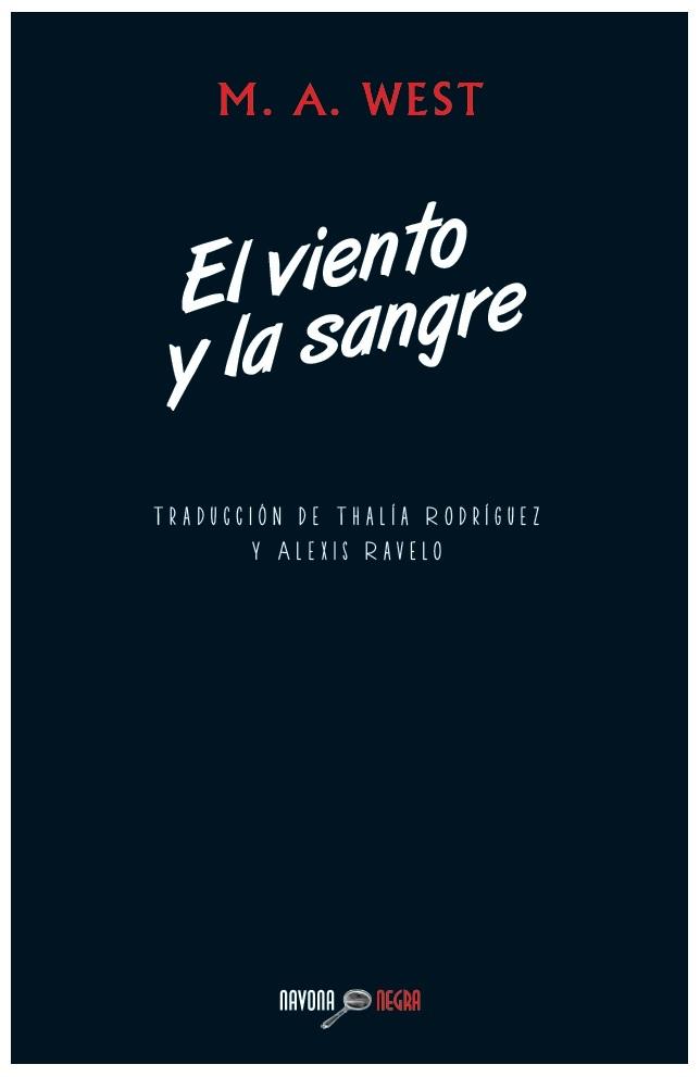 EL VIENTO Y LA SANGRE: portada