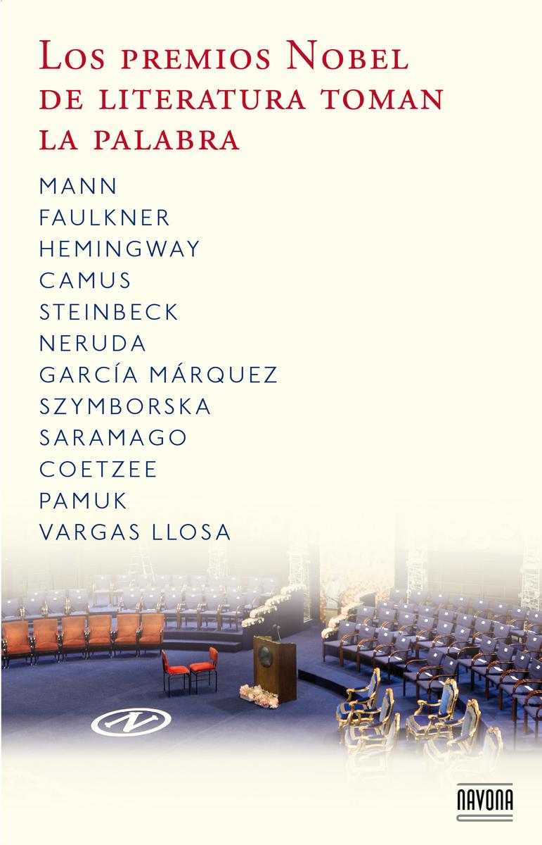 Los premios Nobel de la literatura toman la palabra: portada