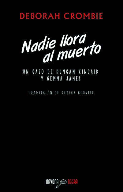 NADIE LLORA AL MUERTO: portada