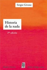 HISTORIA DE LA NADA (2ªED.): portada