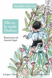 ALLÁ EN LO VERDE HUDSON: portada