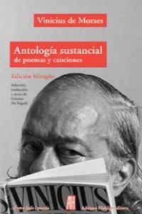 Antología sustancial de poemas y canciones: portada