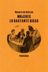 MUJERES LO BASTANTE RICAS: portada