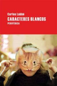 CARACTERES BLANCOS: portada