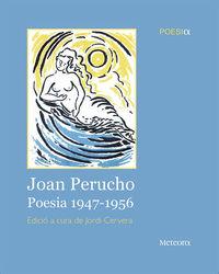 Joan Perucho. Poesia 1947-1956: portada
