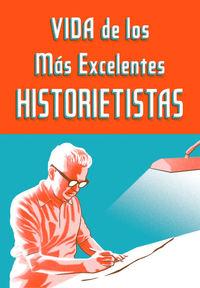 Vida de los más excelentes historietistas: portada