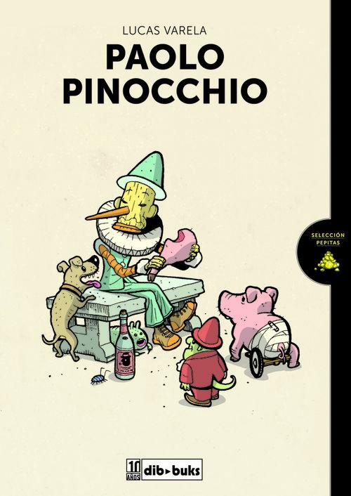 PAOLO PINOCCHIO: portada