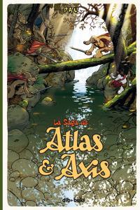 LA SAGA DE ATLAS Y AXIS 1: portada