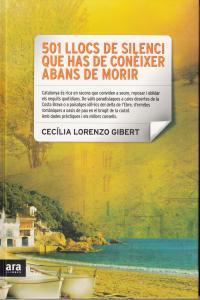 501 LLOCS DE SILENCI QUE HAS DE CONEIXER ABANS DE MORIR: portada