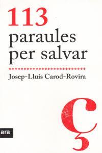 113 PARAULES PER SALVAR - CAT: portada