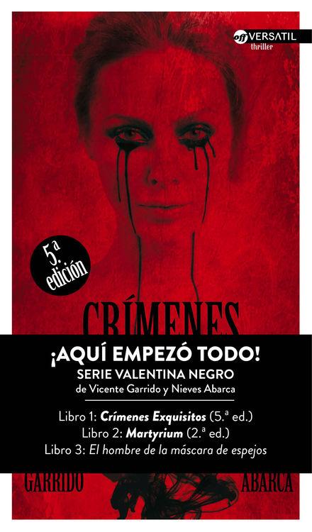 Crímenes Exquisitos   5ª edición: portada