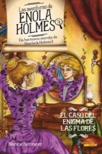 Las aventuras de Enola Holmes 3. El Caso del Enigma de las F: portada